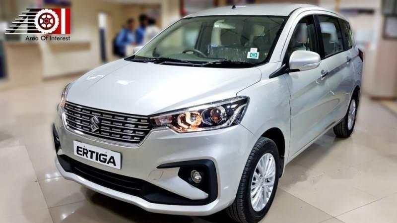 Cần Ban Xe Suzuki Ertiga đời 2019 Mau Trắng Nhập Khẩu