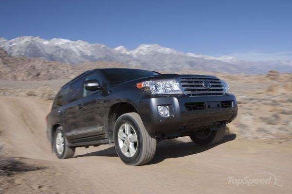 Trải nghiệm lái Toyota  Land Cruiser 2014: Khả năng off-road đáng nể