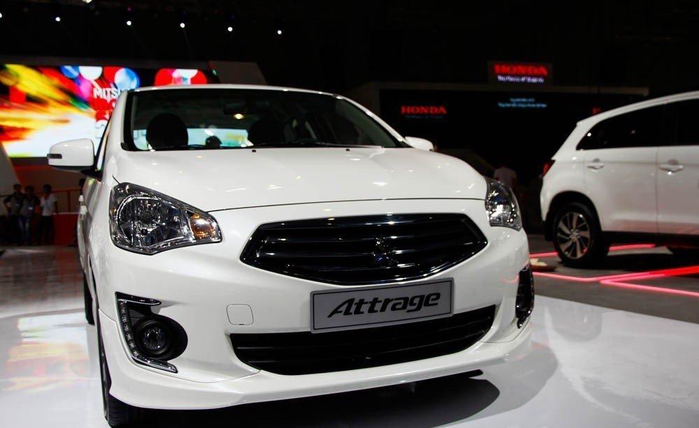 Mitsubishi Attrage 2014 1
