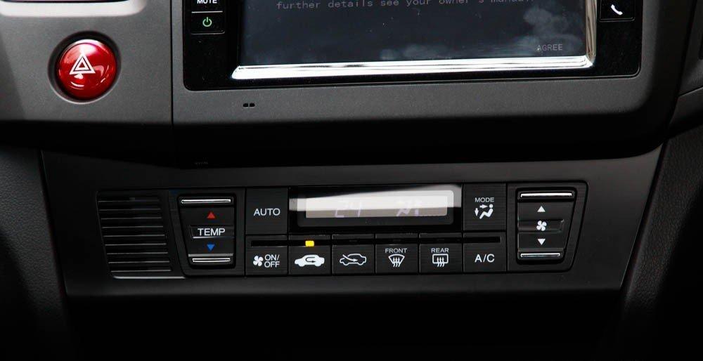 Hệ thống điều hòa của Honda Civic 2015