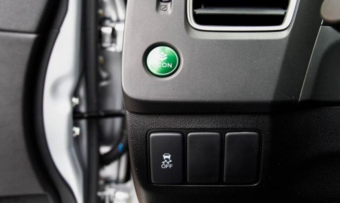 Nút bấm eco tiết kiệm nhiên liệu 1