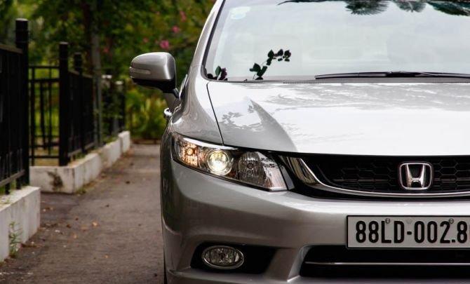Đầu xe Honda Civic được thiết kế đậm chất thể thao 1