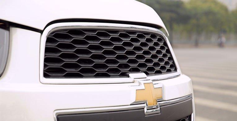 Lưới tản nhiệt của Chevrolet Captiva 1