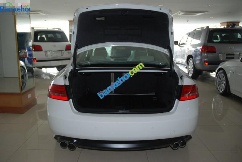 Cần bán lại xe Audi A5 sản xuất 2009, màu trắng, xe nhập-8
