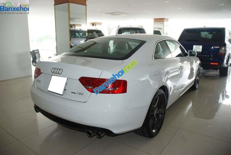 Cần bán lại xe Audi A5 sản xuất 2009, màu trắng, xe nhập-1