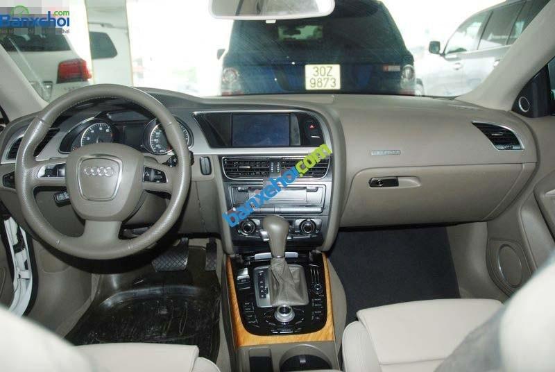 Cần bán lại xe Audi A5 sản xuất 2009, màu trắng, xe nhập-9