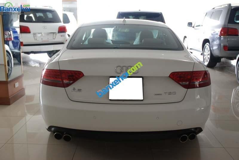 Cần bán lại xe Audi A5 sản xuất 2009, màu trắng, xe nhập-2