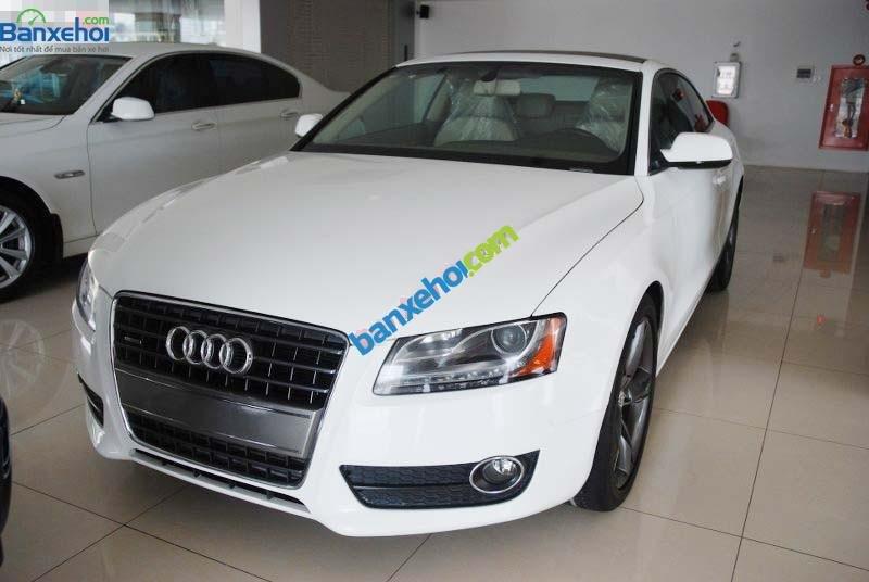Cần bán lại xe Audi A5 sản xuất 2009, màu trắng, xe nhập-0