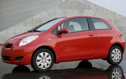 Thân xe Toyota Yaris 2010 a