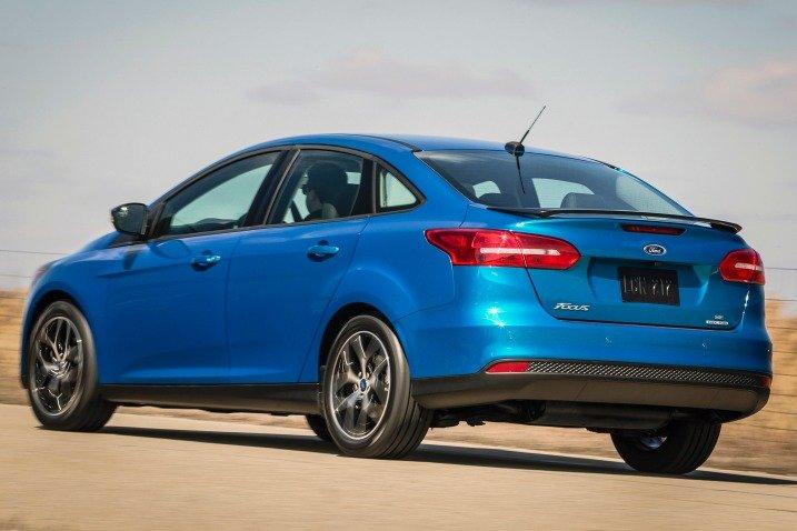 Thân xe Ford Focus 2015