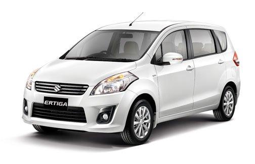 Suzuki Ertiga sở hữu ngoại hình đậm chất MPV 1
