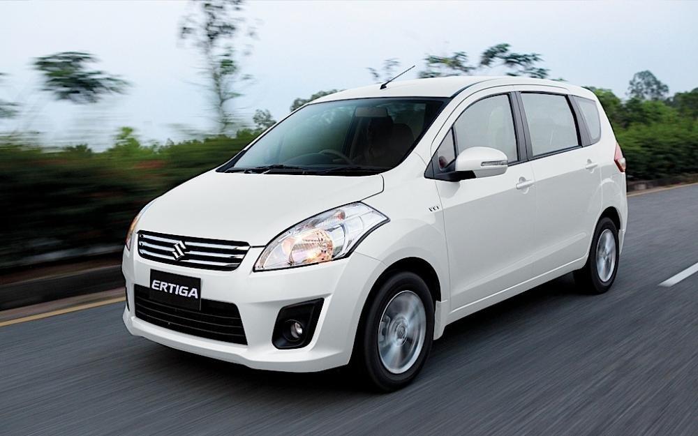 Suzuki Ertiga là tân binh trong phân khúc 7 chỗ gia đình 1