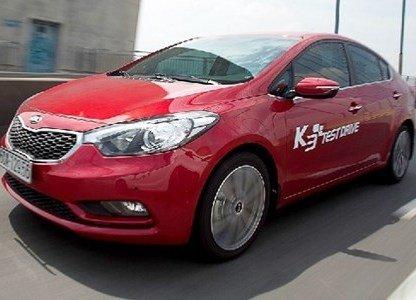 Thân xe Kia K3 1
