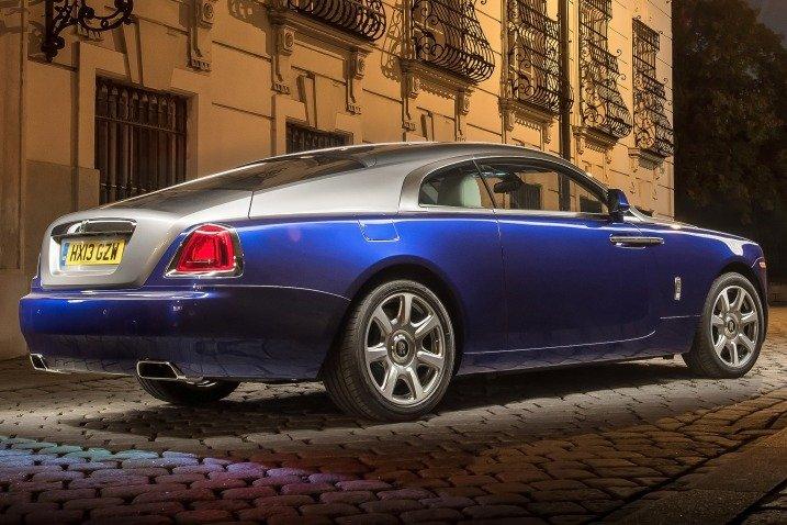 Đuôi xe Rolls-Royce Wraith Coupe 2014 1
