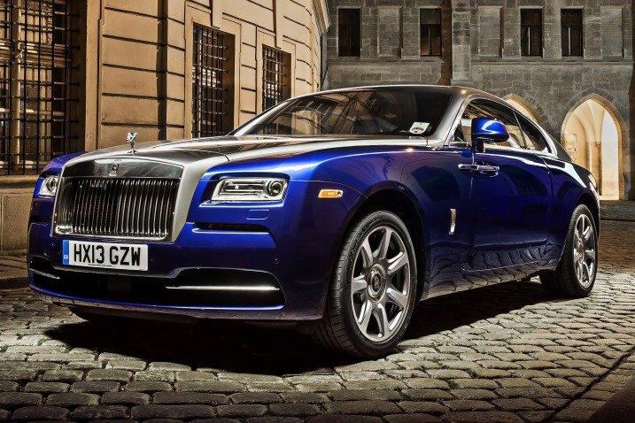 Đầu xe Rolls-Royce Wraith Coupe 2014 1