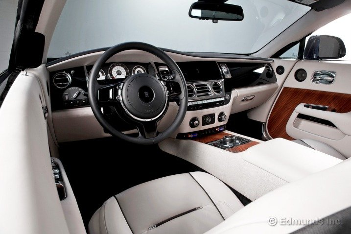 Bảng tablo của Rolls-Royce Wraith Coupe 1