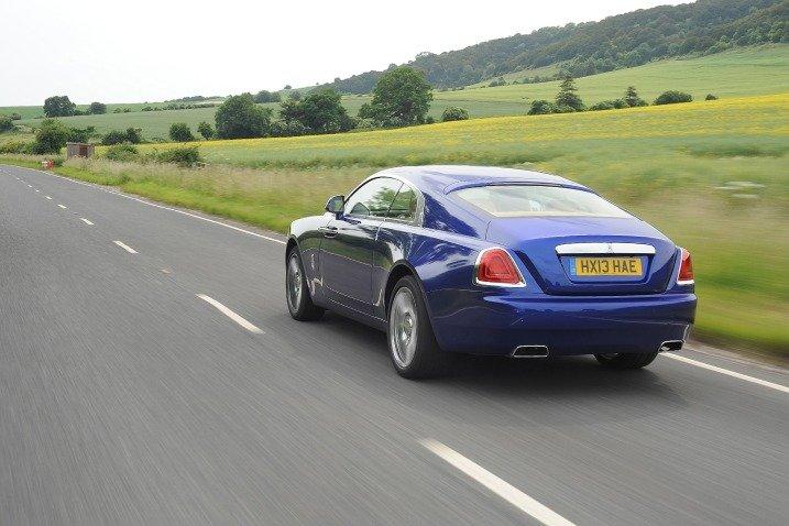 Đuôi xe Rolls-Royce Wraith 1