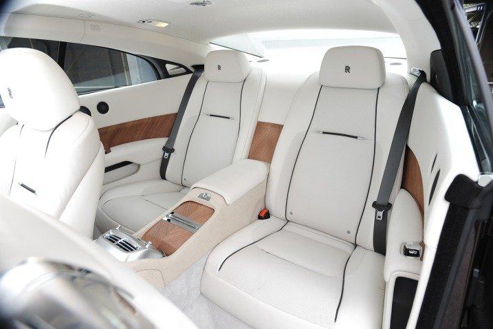 Ghế ngồi của Rolls-Royce Wraith 1
