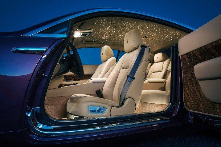 Nội thất đẳng cấp của mẫu coupe siêu sang 1