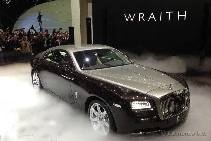 Thân xe Rolls-Royce Wraith Coupe 1