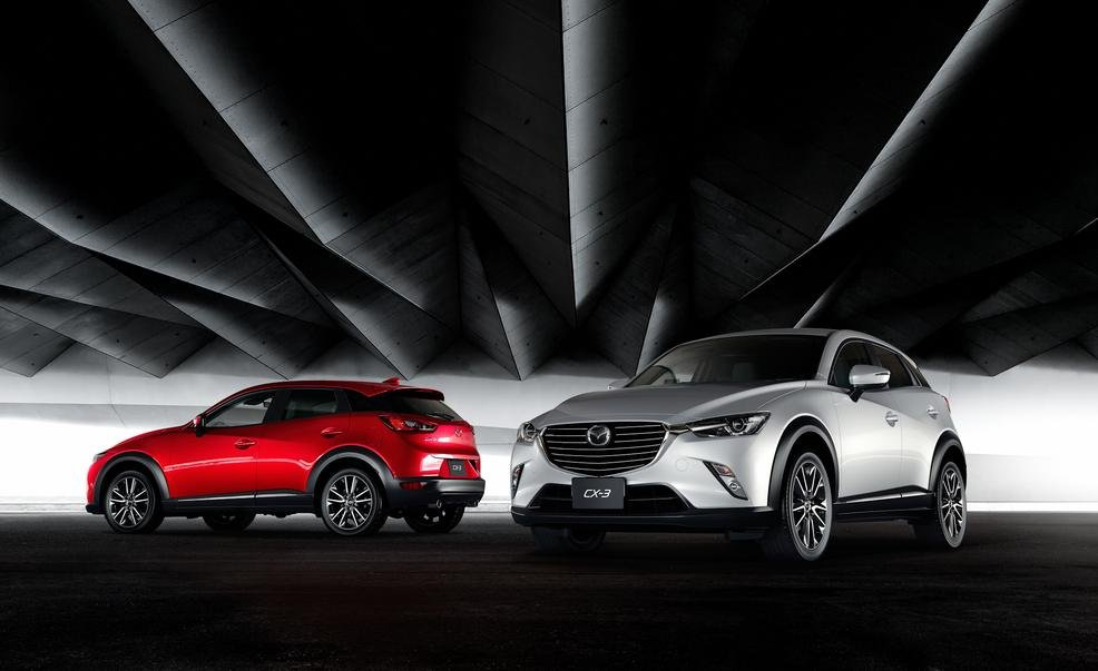 Mazda CX-3 2016 được kỳ vọng lại tạo một cú hích trên thị trường mini SUV 1