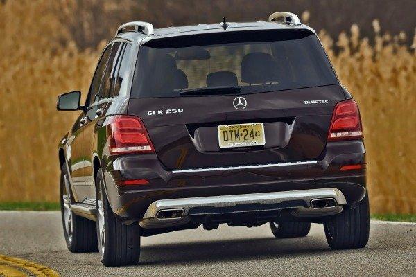 Đuôi xe Mercedes-Benz GLK-Class 2014 1