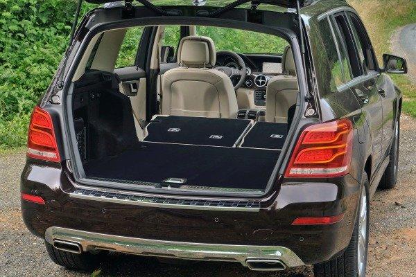 Khoang chứa đồ Mercedes-Benz GLK-Class 2014