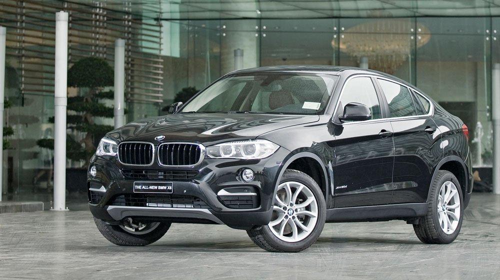 Đầu xe BMW X6 2015 1