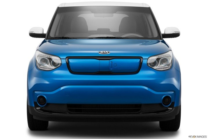 Đầu xe Kia Soul EV 2015 1