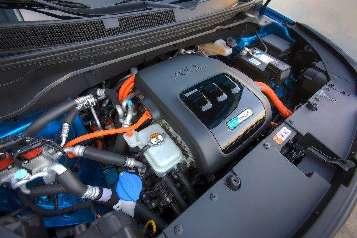 Mẫu xe điện Kia Soul EV có tốc độ tối đa đạt 145 km/h 1