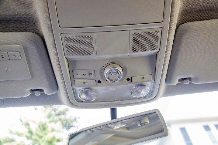 Nút điều chỉnh đèn nội thất của Volkswagen Passat Sedan 2015