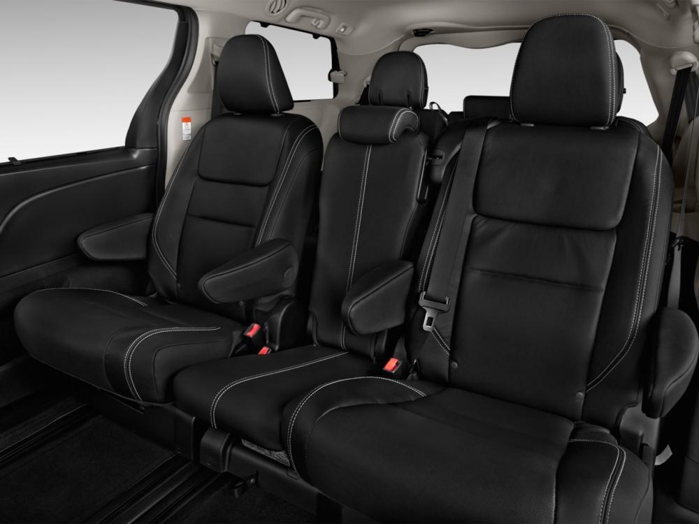 ghế ngồi trên Toyota Sienna 2015