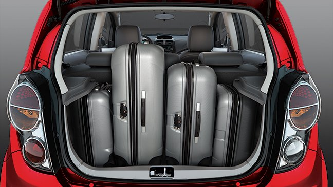 Đánh giá tiện nghi Chevrolet Spark Zest 2014