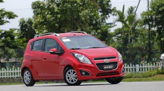 Đánh giá Chevrolet Spark Zest 2014