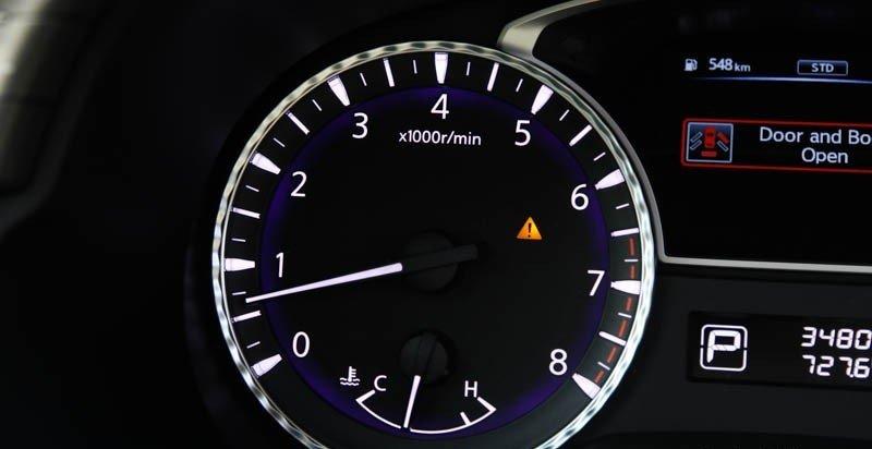Đồng hồ hiển thị tốc độ và nhiệt độ 1