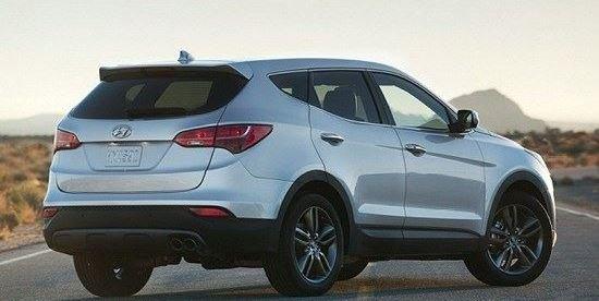 Đánh giá đuôi xe Hyundai Santa Fe 2014
