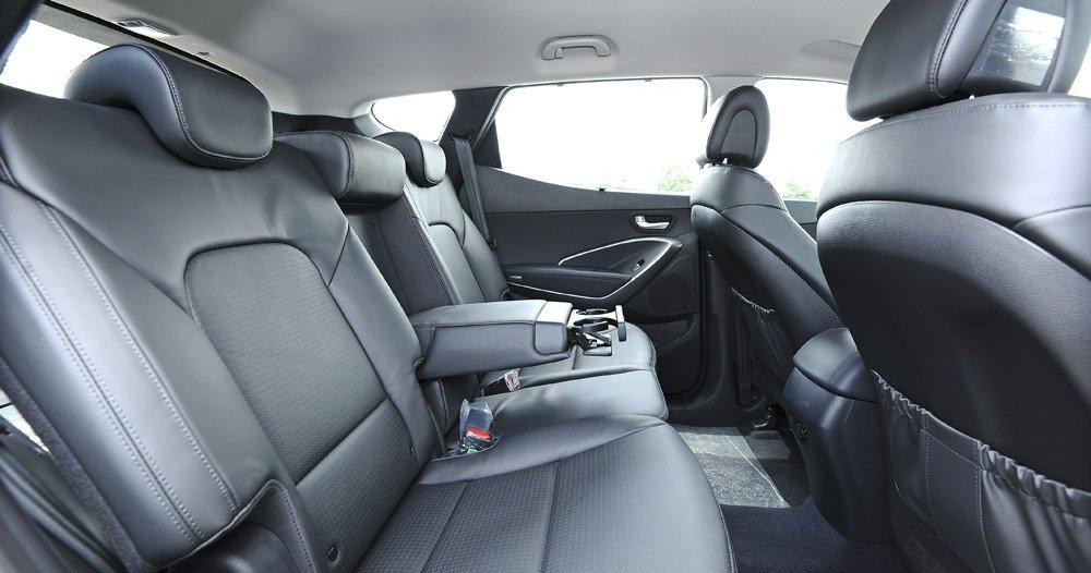 Đánh giá ghế xe Hyundai Santa Fe 2014
