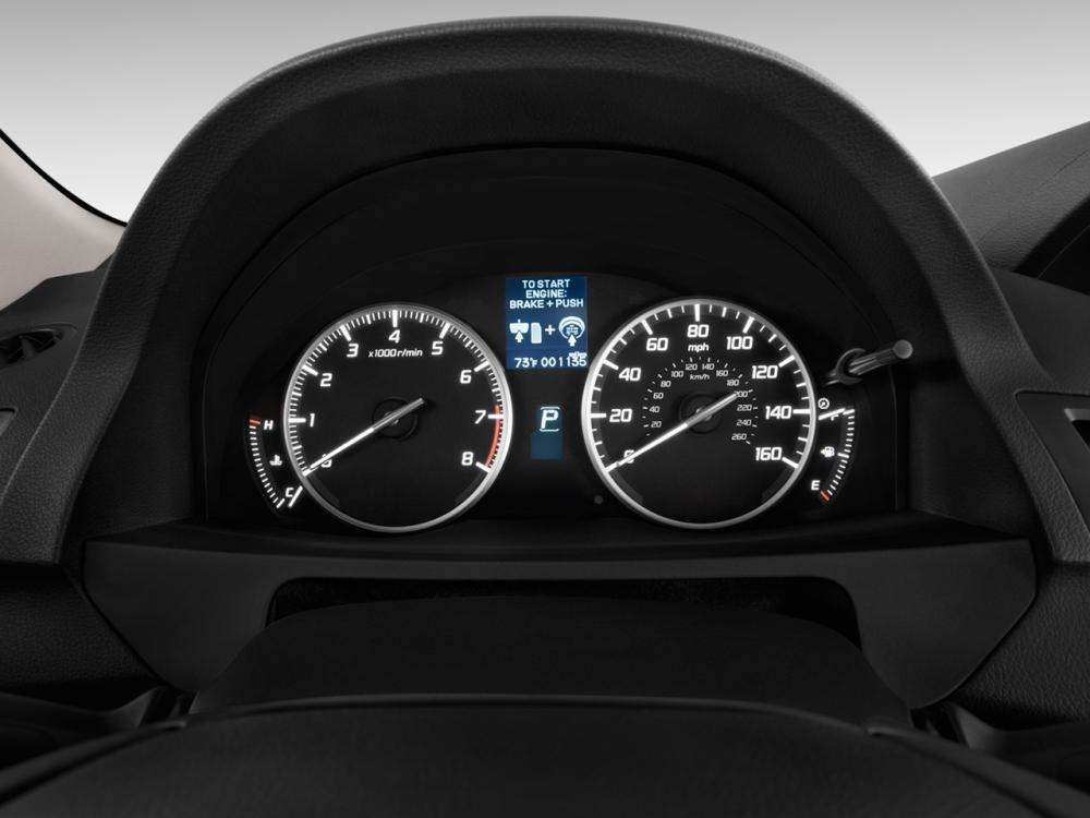 Đánh giá nội thất Acura RDX 2014
