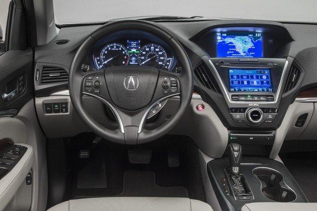 Đánh giá nội thất xe Acura MDX 2015