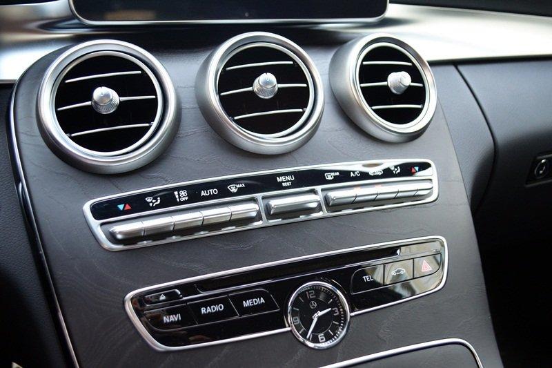 Hệ thống điều hòa của Mercedes-Benz C250 AMG.