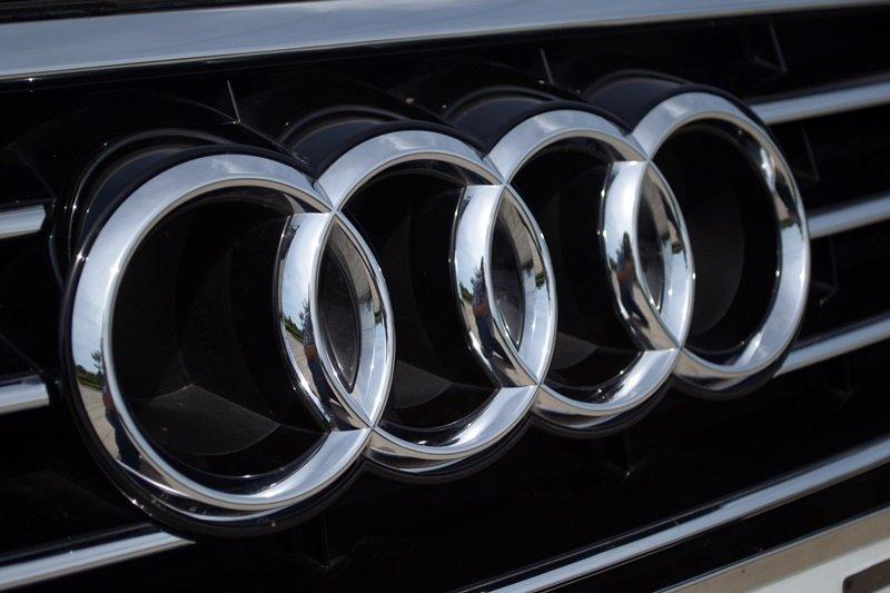 Logo của Audi A7 Sportback trên lưới tản nhiệt.