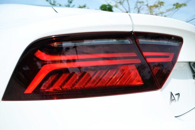 Đèn hậu của Audi A7 Sportback 2015