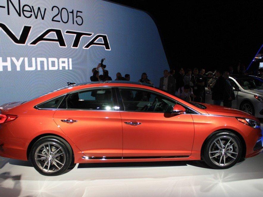 Hyundai Sonata 2015.