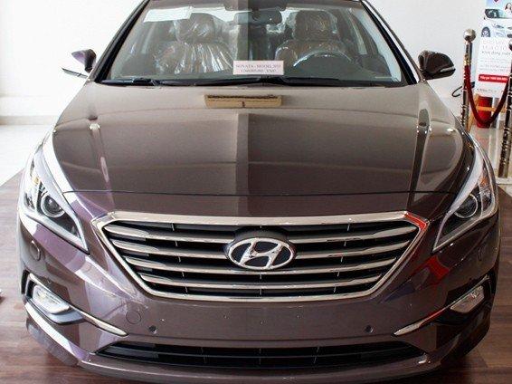 Đầu xe Hyundai Sonata 2015