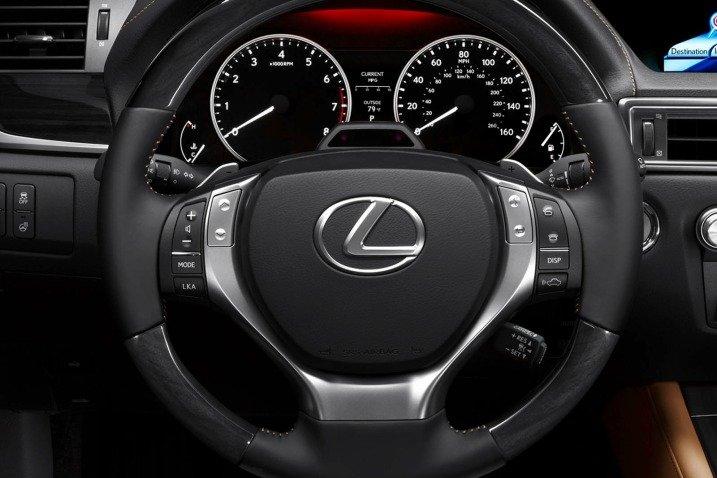 Đánh giá nội thất xe Lexus GS 350 2014