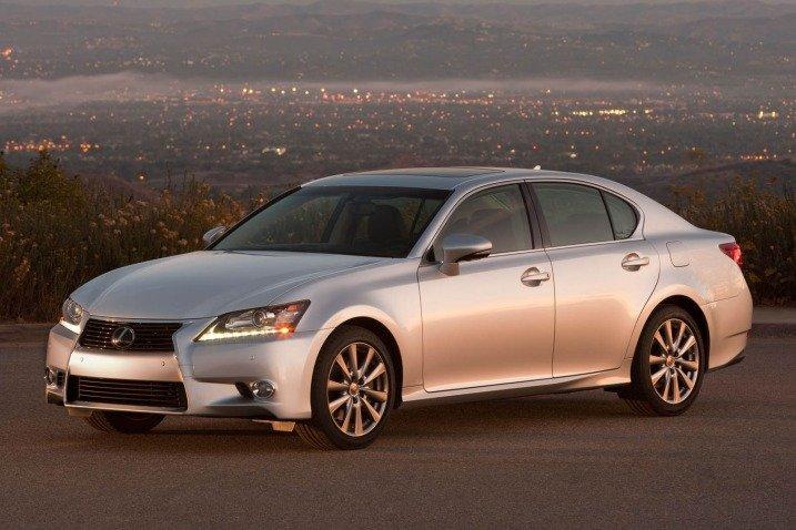 Đánh giá tính năng an toàn xe Lexus GS 350 2014