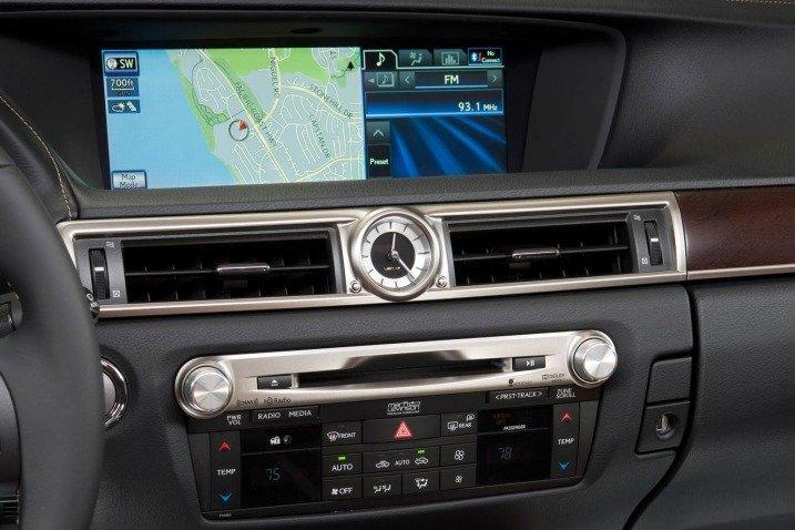 Đánh giá tiện nghi xe Lexus GS 350 2014