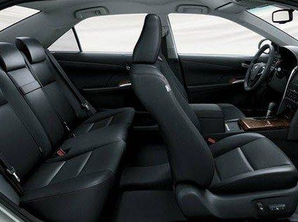 Ghế ngồi của Toyota Camry 2015.