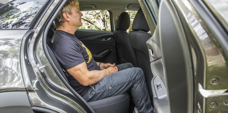 Ghế ngồi của Mazda CX3.