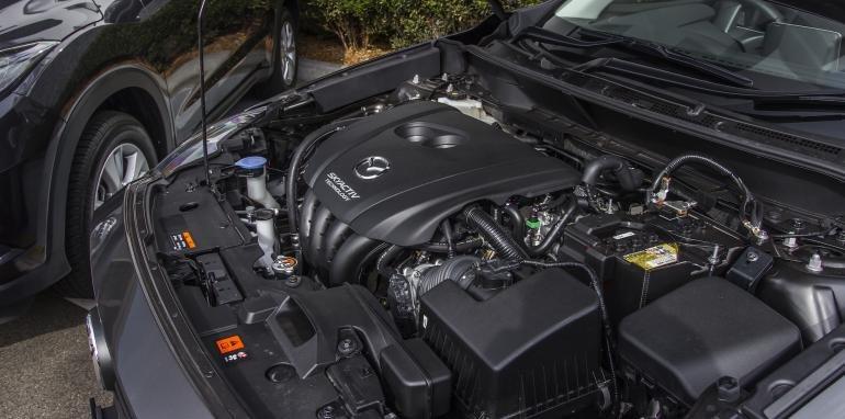 Động cơ của Mazda CX3.
